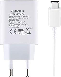 ZLONXUN Caricabatterie Caricatore Rapido per Huawei P10/P10 Plus/Honor 8/P20/Nova 5T/P9/P9 Plus/P30/Mate 10/Mate 20/Mate 9...