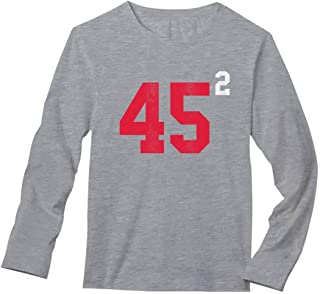 Pro Trump 45 2 President Donald Trump USA Elections 2020 Long Sleeve T-Shirt