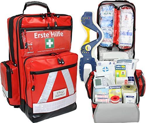 Erste Hilfe Notfallrucksack für Jugendgruppen u. Zeltlager - Planenmaterial mit Waterstop System