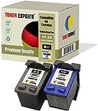 Pack de 2 XL TONER EXPERTE® Cartuchos de Tinta compatibles con HP 21XL 22XL C9351AE C9352AE para HP Officejet 4315 PSC 1410 Deskjet 3940 F2180 F2280 F380 F4180 D1460 D1530 D2360 D2460 (Negro, Color)