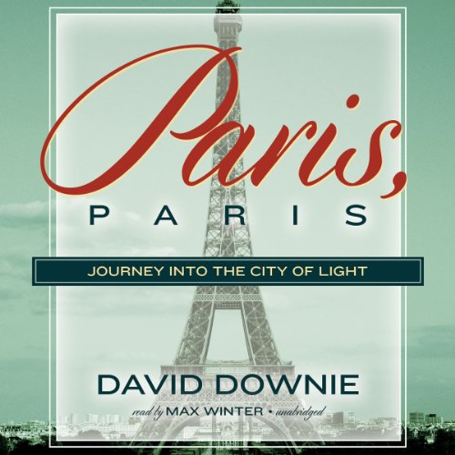 Paris, Paris audiobook cover art