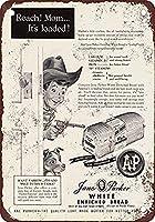 ジェーンパーカー白パン壁金属ポスターレトロプラーク警告ブリキサインヴィンテージ鉄絵画装飾オフィスの寝室のリビングルームクラブのための面白いハンギングクラフト