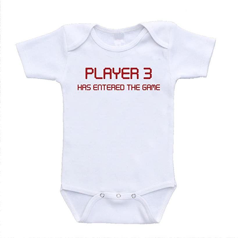 Player 3 Has Entered The game funny hilarious bodysuits onesies online shopping affordable infant clothing (newborn(0-3 Months))