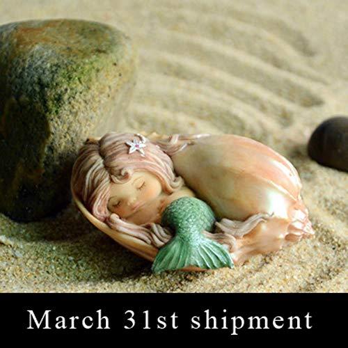 Creative Cute Mermaid meubileringsartikelen prinses huis meisje Fish Tank Aquarium landschap Decoratie nieuw, A