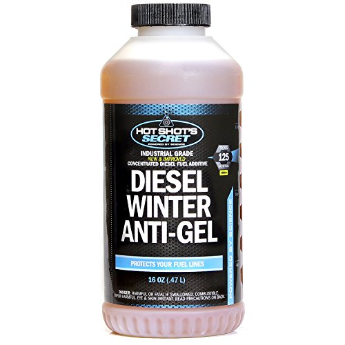 Hot Shot's Secret Diesel Winter Anti-Gel 16 OZ Round Bottle