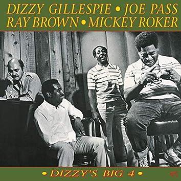 Dizzy's Big 4 [Original Jazz Classics Remasters]