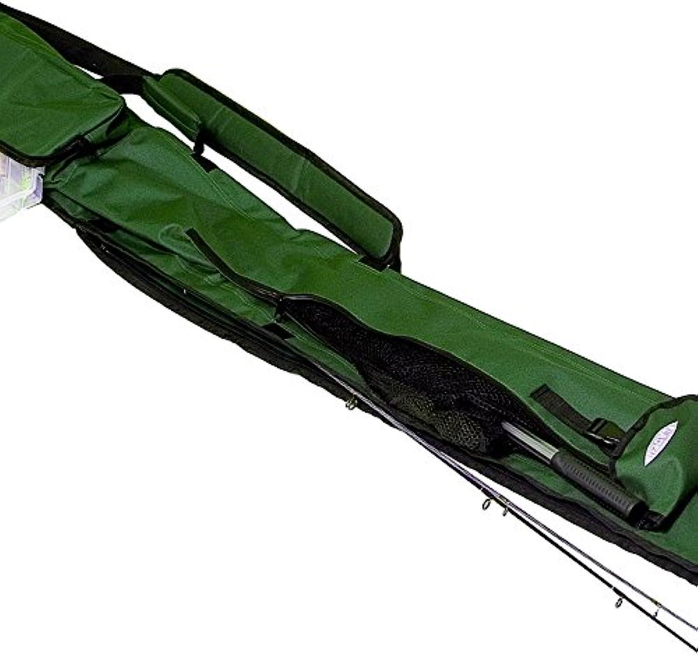 Fladen Angeln Tackle Gepäck Extra Lang Team grün 255 cm Rutentasche – Für bis zu 6 einzigen Ruten [27–01255] B01IPCDJQG  Einfach