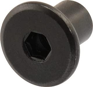 Hillman 57148 Black Oxide Joint Connector Nut, 1/4