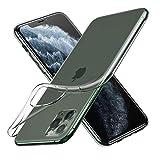 Woqatac iPhone 11 Pro ケース iPhone 11 Pro カバー TPU シリコン ケース 耐衝撃カバー 超薄型 擦り傷防止 軽量 ソフト クリア全透明 (iPhone 11 Pro ケース)