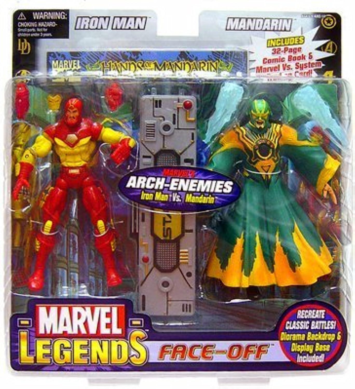 Marvel Legends Face Off Iron Man Vs. Mandarin by Iron Man