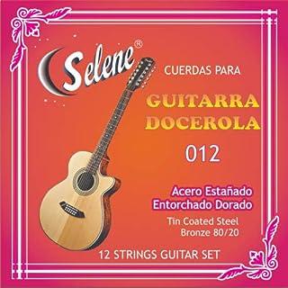 Professional 12 Strings Guitar Set Selene Model - 012 (Full Set) Cuerdas para Guitarra