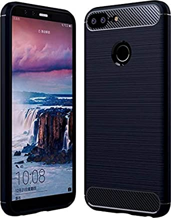 Bracevor Back Case Cover for Honor 9N Flexible Shockproof TPU Brushed Texture - Black