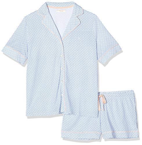 Triumph Damen Sets PSK Boyfriend 01 Zweiteiliger Schlafanzug, Mehrfarbig (Blue-Light Combination M007), (Herstellergröße: 42)