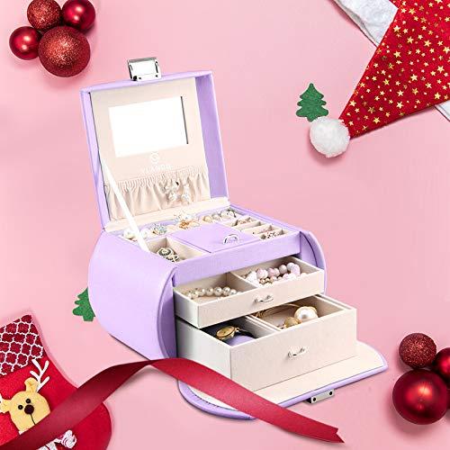 Vlando Princess Style Jewelry Box-Fabulous Girls Gift (Lavender)