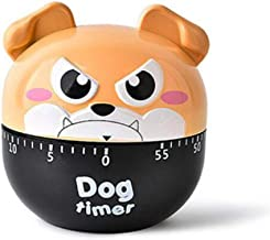 Fan-Ling Kitchen Cooking Countdown 60 Mins Steel/Plastic Mechanical Timer Alarm,Cute Mini Pig Count-Down Up Clock Alarm,Home Kitchen Chef Mini Count-Down Timer,Cooking Time Reminder