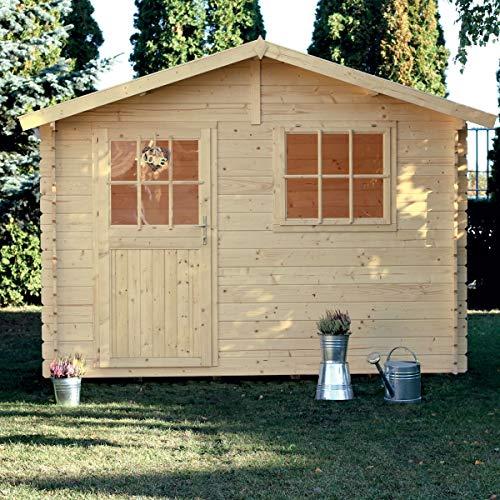 Casetta giardino PAOLA legno nordico GARTENPRO 318x218x244/195H