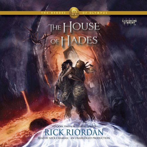 The House of Hades     The Heroes of Olympus, Book 4              By:                                                                                                                                 Rick Riordan                               Narrated by:                                                                                                                                 Nick Chamian                      Length: 17 hrs and 32 mins     5,203 ratings     Overall 4.5