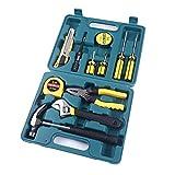 Caja de Herramientas de reparación de automóviles Combinados Juego portátil de automóviles de Emergencia Kit de 12 Piezas Kit de reparación/Pantalla Digital Set Caja de Herramientas de la Emergencia