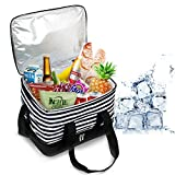 Riley Joy 30L Bolsa Isotermica de Almuerzo Nevera Portatil,Bolsa porta alimentos, incluye dos contendores...