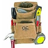 Custom Leathercraft ツールバッグ Suede Carpenter's Nail and Tool Bag, 10 Pocket [並行輸入品]
