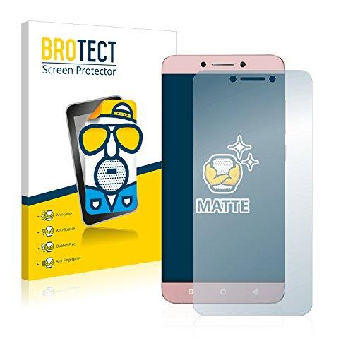 BROTECT 2X Entspiegelungs-Schutzfolie kompatibel mit LeEco Le Max 2 Bildschirmschutz-Folie Matt, Anti-Reflex, Anti-Fingerprint