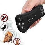 KOBWA Anti Dog Barking Device 3 En 1 Repelente De Perro/Herramienta De Entrenamiento/Stop Barking con Linterna LED - 100% Seguro para Mascotas Y Humanos