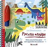 Pinceau magique - Les Dinosaures – Livre Coloriage magique à l'eau avec un pinceau – À partir de 3 ans