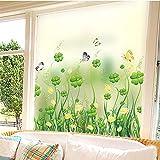 Pellicola per Vetri Colorati Kundenspezifische Elektrische Milchglasfolie Toilettenglasaufkleber Balkonfenster Fensterpapier Undurchsichtige Schattierung-60 * 100Cm