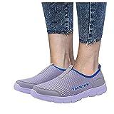 Dasongff Zapatillas de deporte para mujer, ligeras, modernas, antideslizantes, transpirables, para el tiempo libre