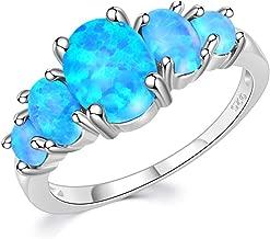 Best blue opal rings Reviews