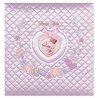 【お子様の誕生記念に刺繍アルバムを作成致します/ア-OLB-807】フエルアルバム ワンダフルベビー ピンク Lサイズ