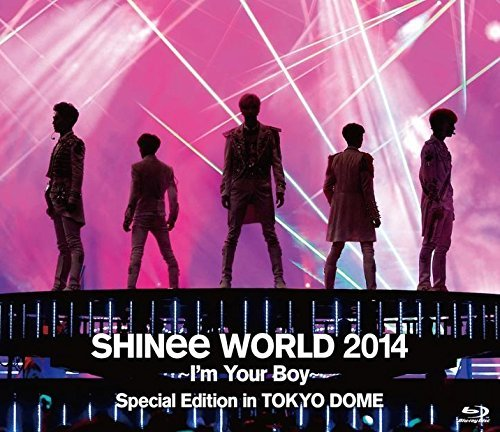 SHINee World 2014 -I'm Your Boy- Special Edition in Tokyo Dome (DVD) (Normal Edition)(Japan Version)[+SHINee autograph photo][+SHINee transparent plastic card][+SHINee pop-up standing sticker][+SHINee postcard(10cmx15cm)][+SHINee personal sticker]