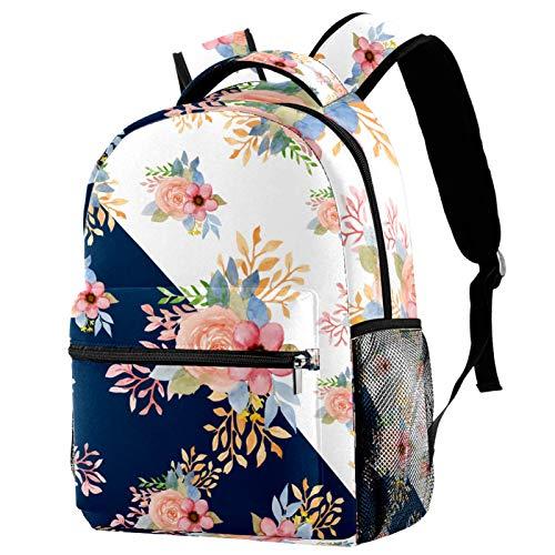 Sandalias de playa de verano con flores para tabla de surf, mochila para colegio, mochila para senderismo, mochila de viaje para mujeres y hombres