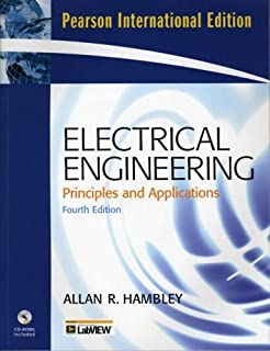 Electrical Engineering: International Version: Principles and Applications by Allan R. Hambley (2007-03-13)