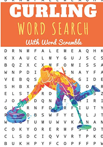 Curling Word Search: 40 puzzles   Challenging Puzzle Book For Adults, Kids,...