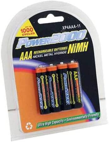 Classic Power2000 Popular shop is the lowest price challenge XP4AAA-11 1150mAh NiMH AAA Rechargeable P Batteries 4