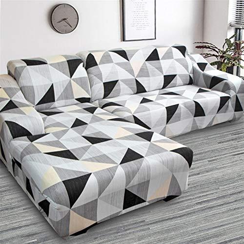 Einfach zu installierender und bequemer Sofa Sofa-Cover, Band-Muster-Stretch-elastische Sofaabdeckungen für Wohnzimmerbedürfnisse Bestellen Sie das Sofa-Set (2-Piece) Wenn die COISE-COUK-Couch-Couchs