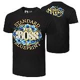 WWE Authentic Wear Sasha Banks Standard Blueprint Legit Boss T-Shirt Black Large