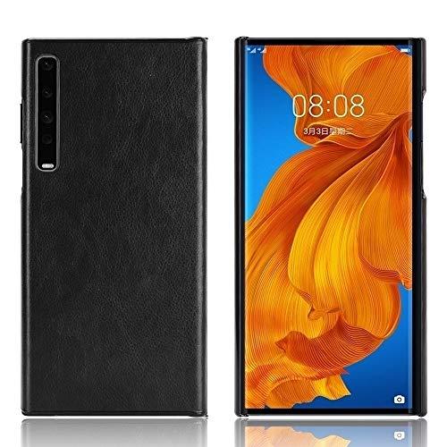 Hauw Funda Huawei Mate XS,Cuero PU y Carcasa Trasera para Teléfono para PC para Huawei Mate XS,Negro