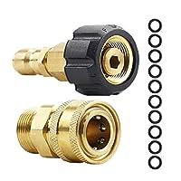圧力洗濯機アダプターセットM22に1/4インチクイックコネクトキット、M22 14MMに1/4インチクイックコネクトキット (Color : As shown)