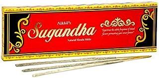 Nikhil Sugandha Natural Incense - 2 Packs, 50 Grammes per Pack