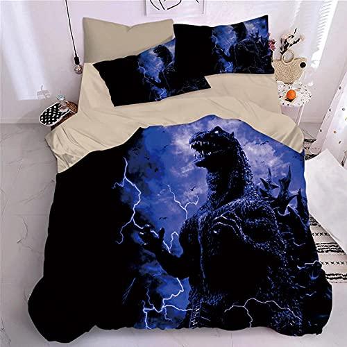 Bedclothes-Blanket Juegos de Fundas para edredón,Sandwer de 4 Piezas de Cama 3D-Esconder_1,8 m la Cama