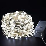 Luces de navidad LED guirnalda súper brillante decoración de cadena de luz al aire libre para decoración de jardín cadena de luz A4 10m100 leds usb