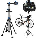 YUFF Fahrradmontageständer mit Magnetischer Werkzeugablage Fahrrad Reparaturständer 360°drehbar...