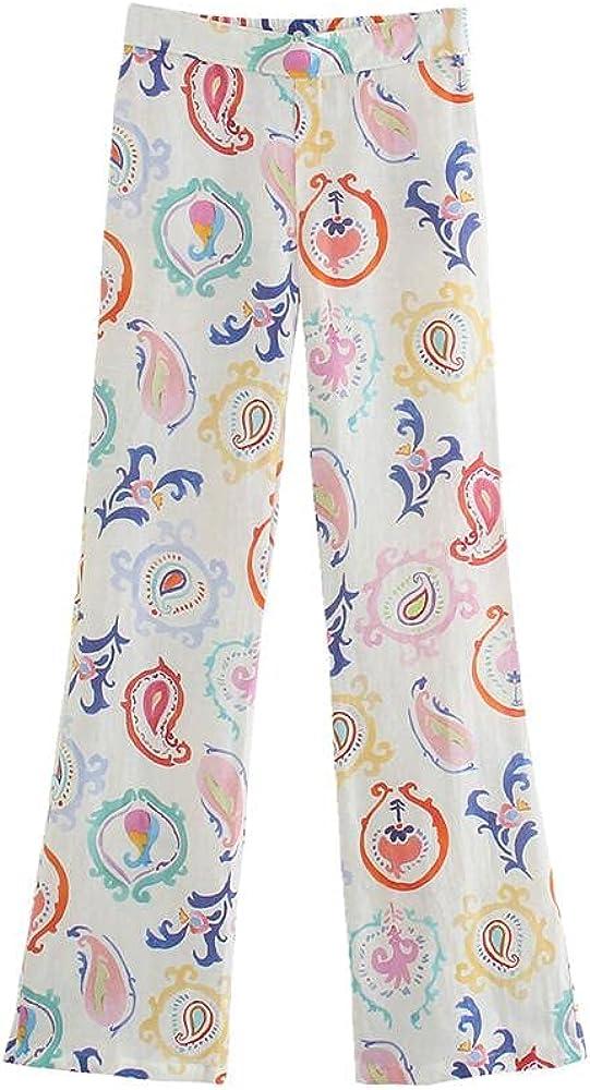 NP Waist Pants Ladies Waist Flared Pants Casual Pants
