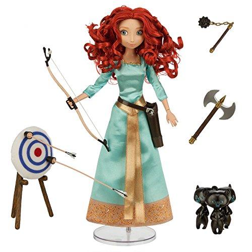 Disney - Le film Rebelle exclusive 11 pouces poupée parlante Merida - (parle en anglais)