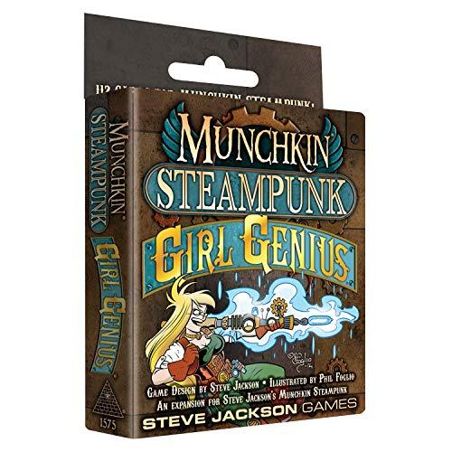 Munchkin Steampunk Girl Genius