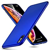 Eono Essentials iPhone XS Hülle, Slim Black Stoßfeste Hart-TPU Schutzhülle [Schlanker und...