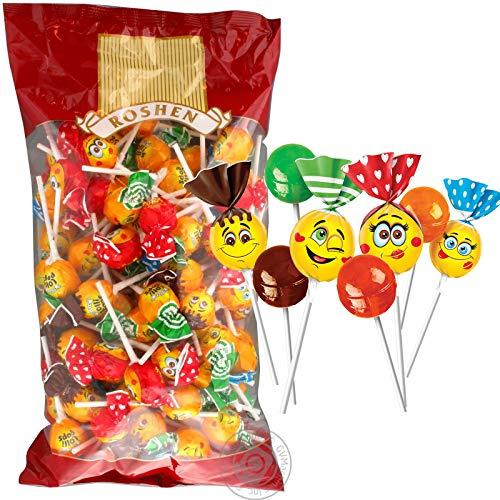 Lollipops mit Cocktail Geschmack 1kg Roshen I Polnische Süßigkeiten