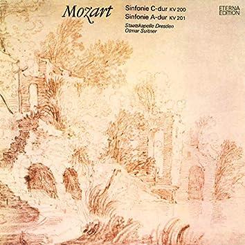 Mozart: Sinfonie C-Dur / Sinfonie A-Dur
